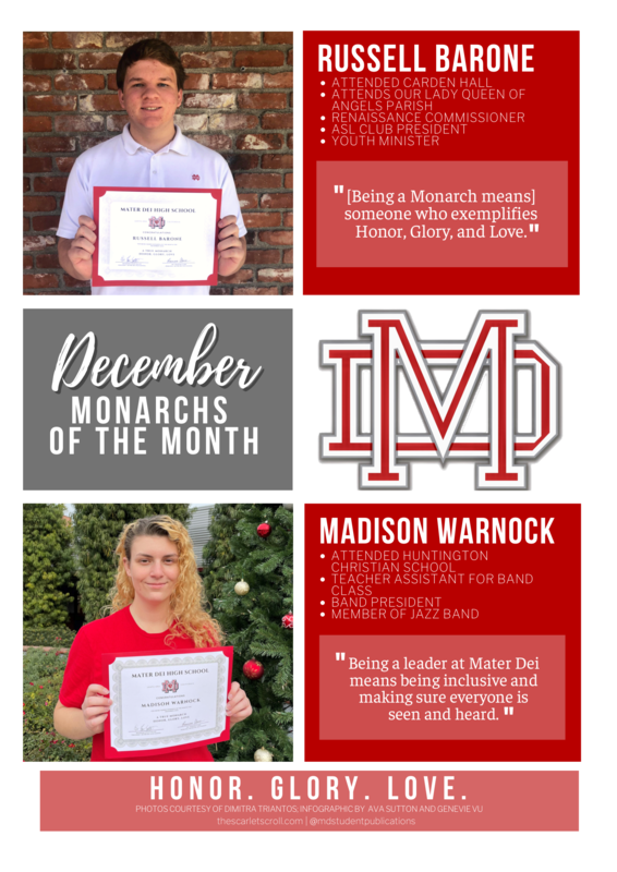 December Monarchs of the Month! Featured Photo