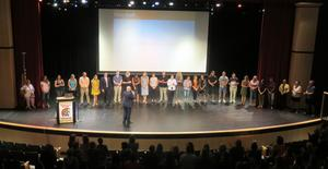 All new staff to TK are introduced at the start of the school year.