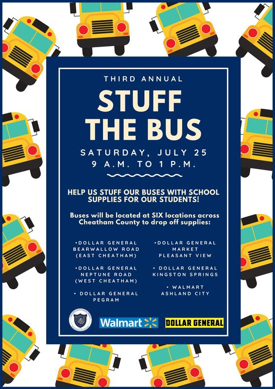 Stuff the Bus is July 25