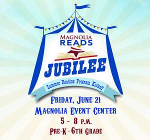 Flyer for MISD Reading Jubilee