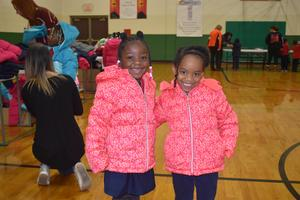 Granville Lutheran Students received free coats from Operation Warm