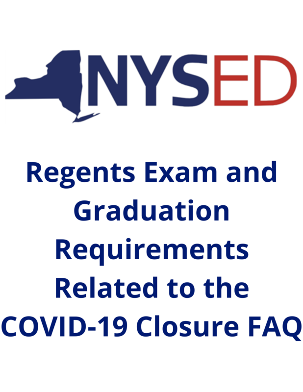 Regents Exam and Graduation Requirements Related to the COVID-19 Closure FAQ Featured Photo