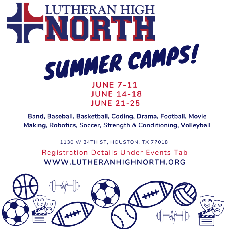 SUMMER CAMPS JUNE 7 - 25 Thumbnail Image