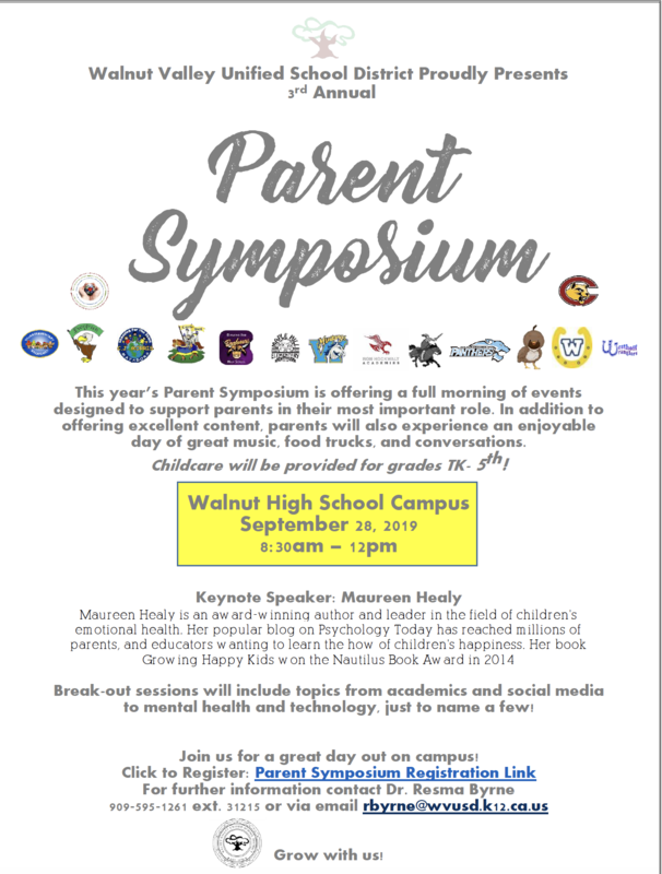 Register Now for Parent Symposium! Featured Photo