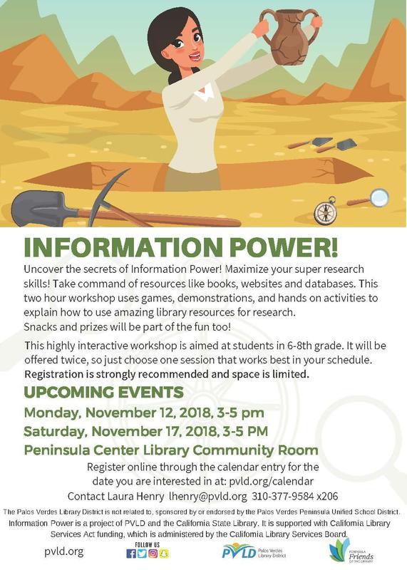 Information Power Workshop Flyer