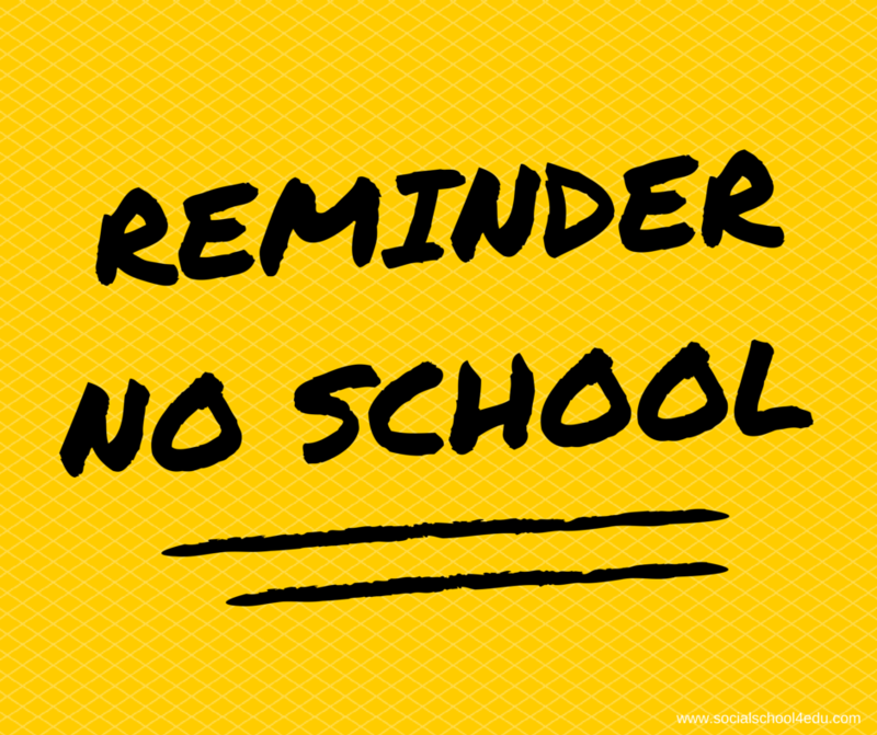 Reminder School Closed Dates in November Featured Photo