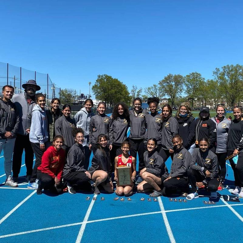 Hudson County Champions - Bruins Girls Track and Field Team