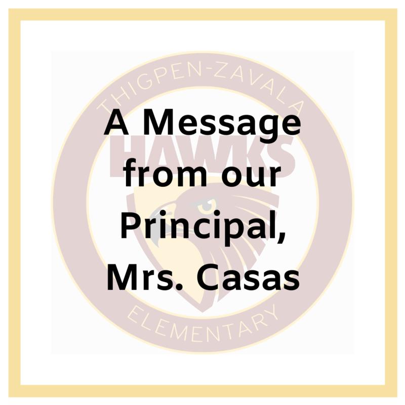Principal Message