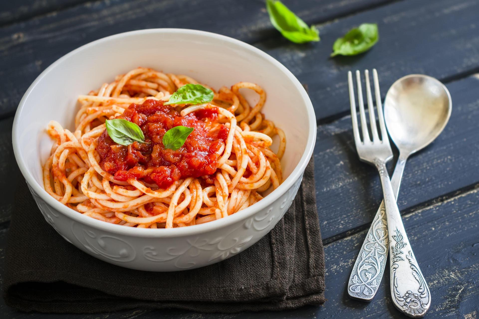Pasta with Marinara