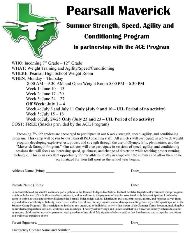 Maverick Summer Strength and Conditioning Program Thumbnail Image
