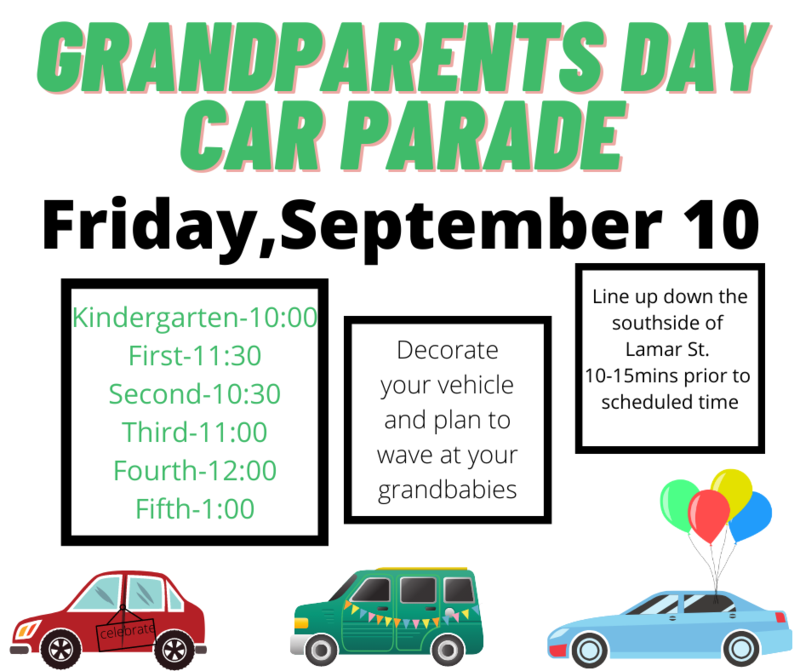Grandparents Day Car Parade Featured Photo
