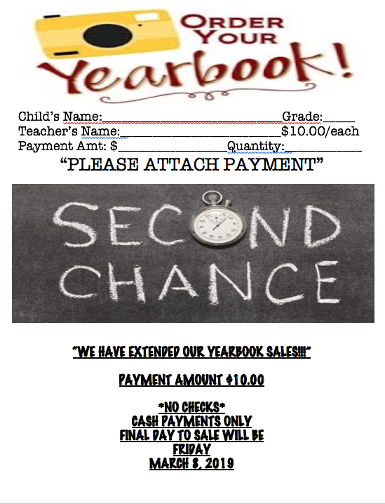 EXTENDED YEARBOOK SALE Thumbnail Image