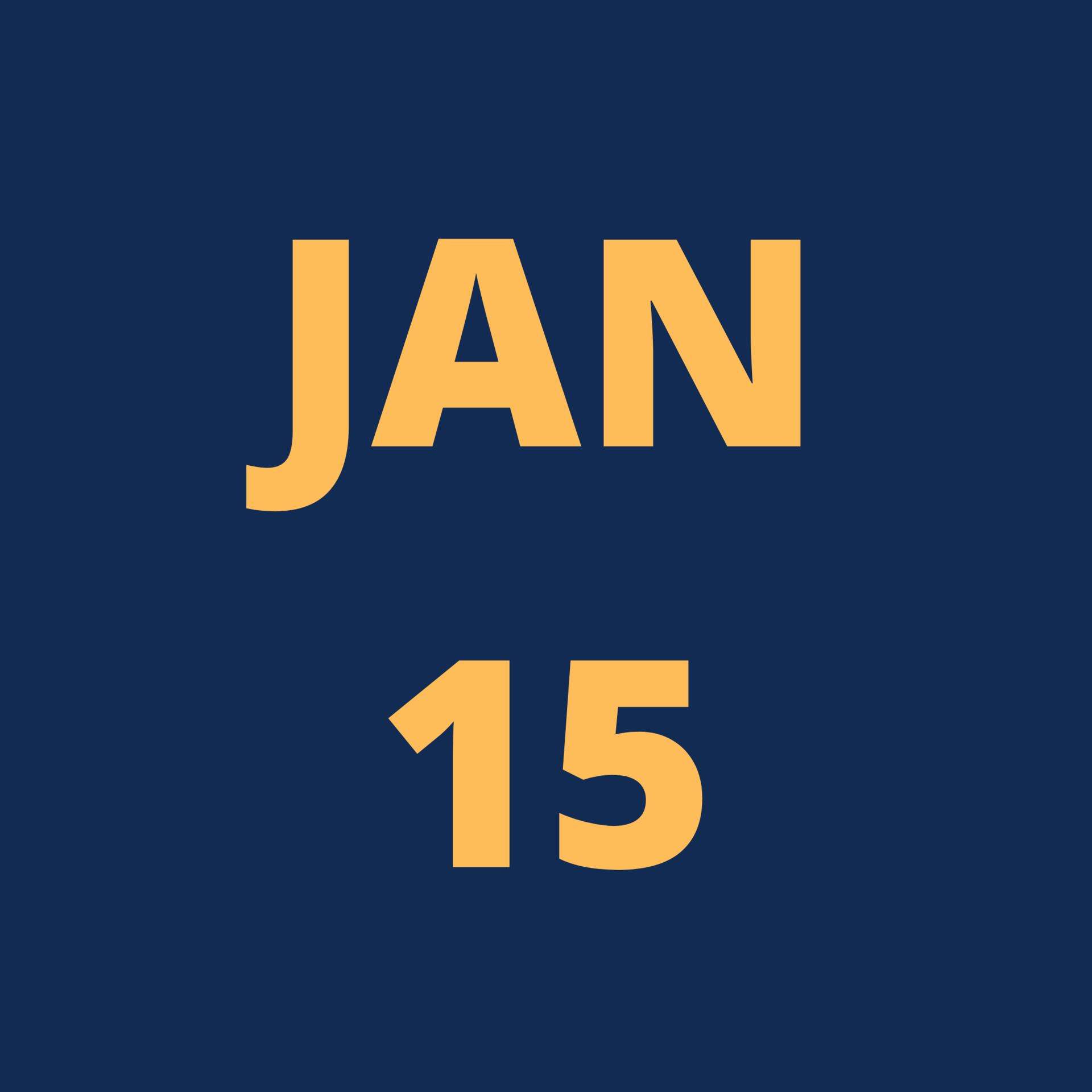 Jan 15 Icon