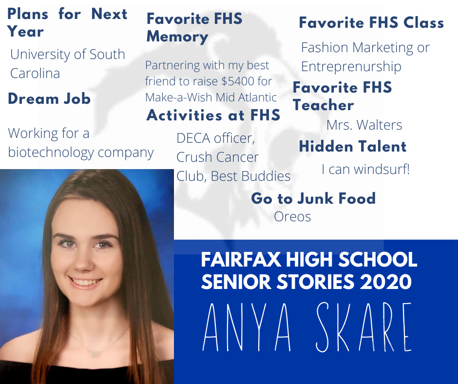 anya skare graphic with photo and activities