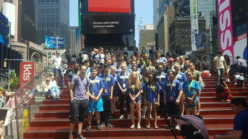 DHS BAND VISITS NEW YORK CITY Thumbnail Image