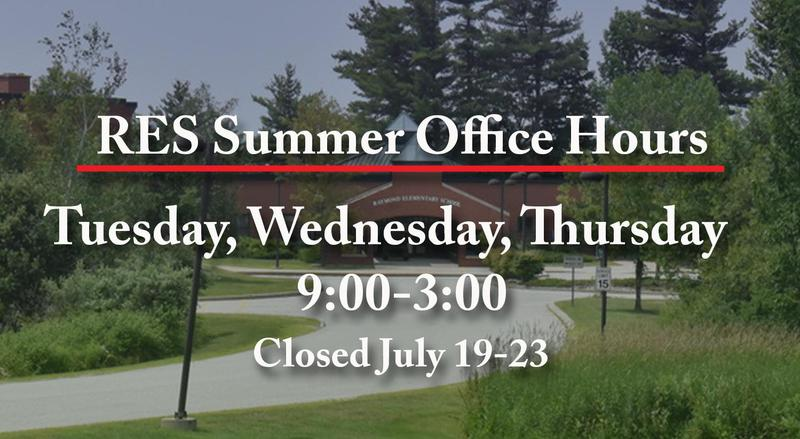 RES Summer Hours