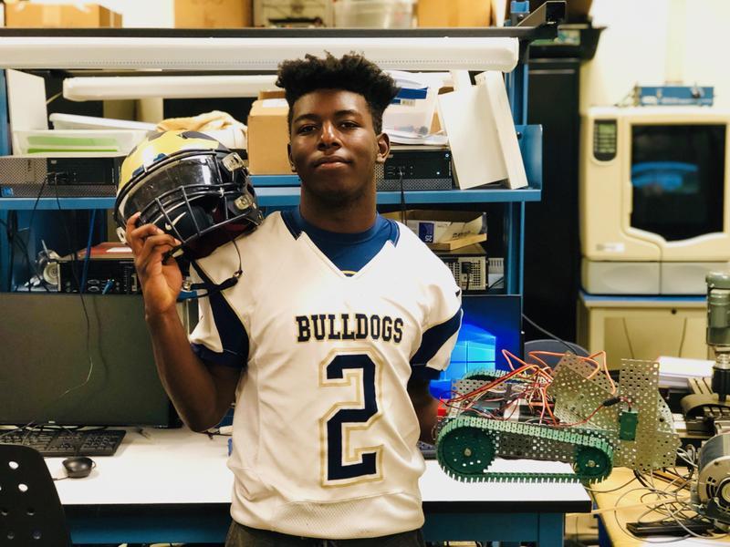 #BulldogSTRONG Student Spotlight: Conroy Hayes Thumbnail Image