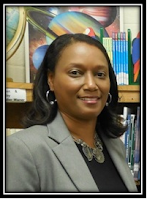 A picture of Principal Kathy R. Woodard