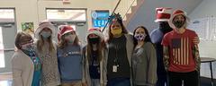 BETA club member participate in Dr Seuss'