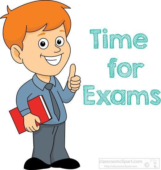 Time for Final Exam clipart