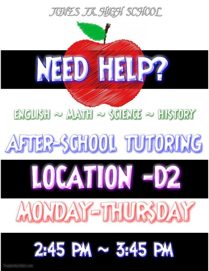 After School Tutoring Program Flyer
