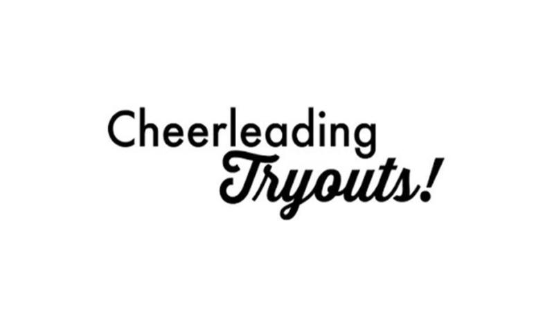 cheer tryouts clip art