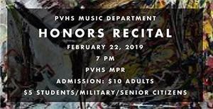 Honors Music Recital