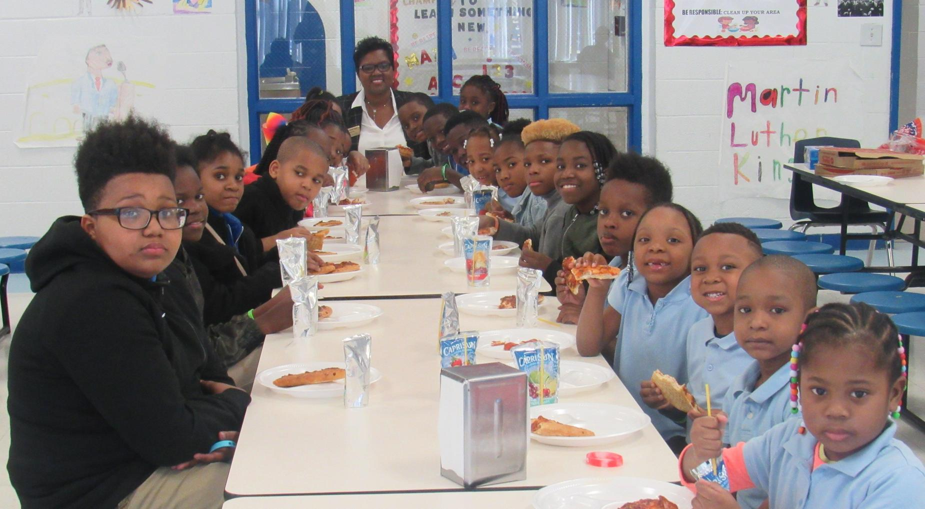 Pizza With the Principal