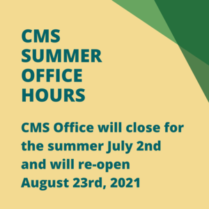 CMS Summer Office Hours.png
