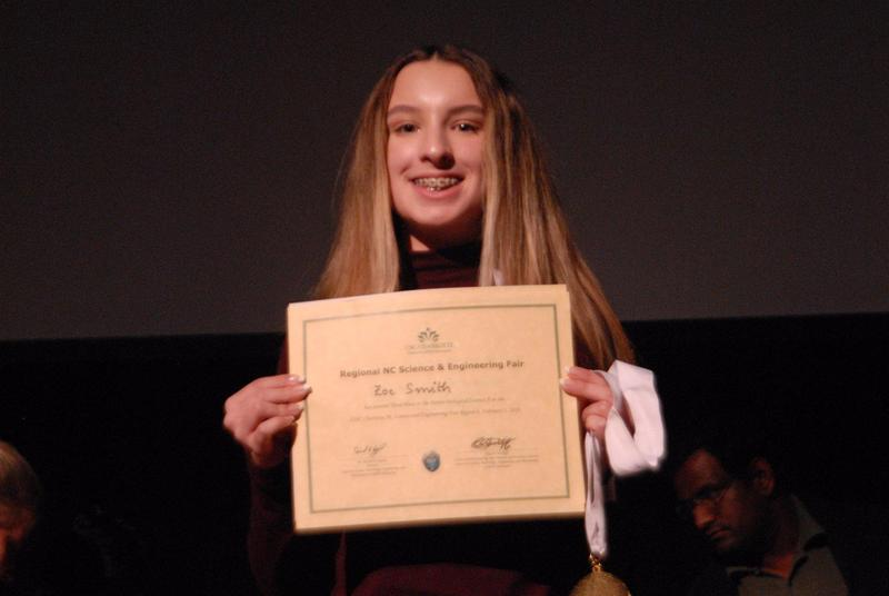 OCSS Middle Grades Students Attend the Regional Science Fair Featured Photo