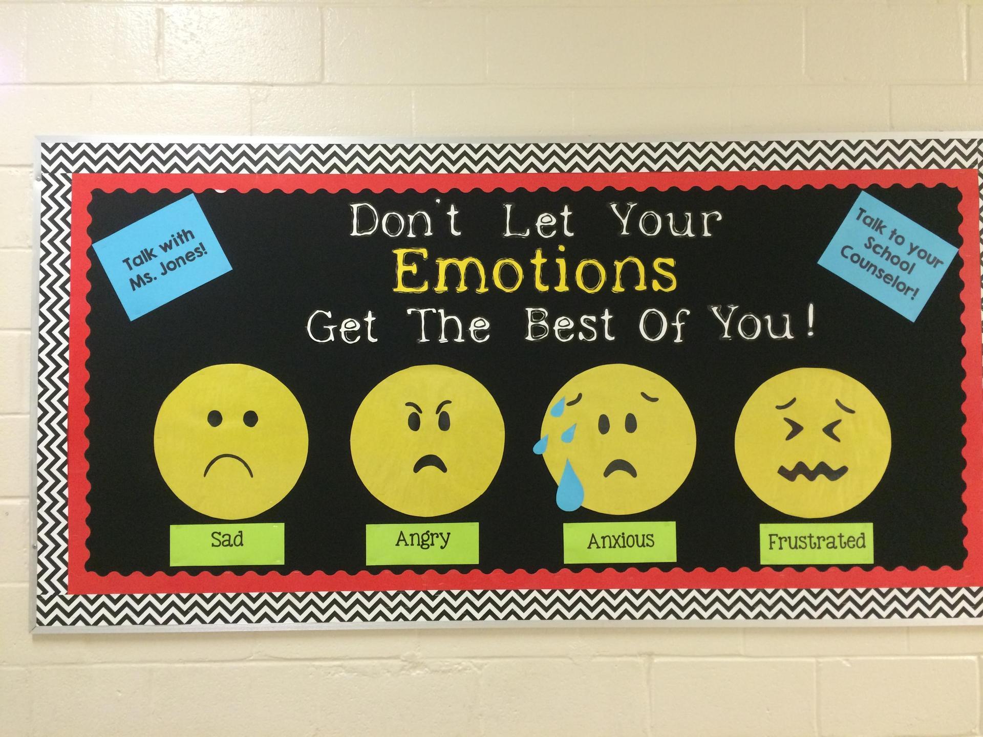 Emotions Bulliten Board