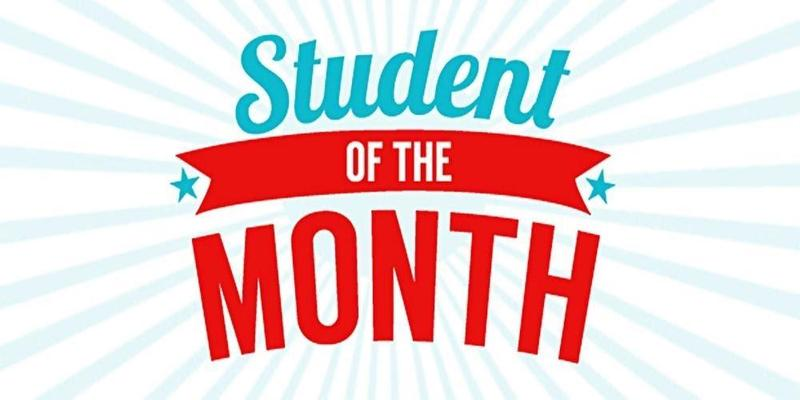 Student of the Month graphic