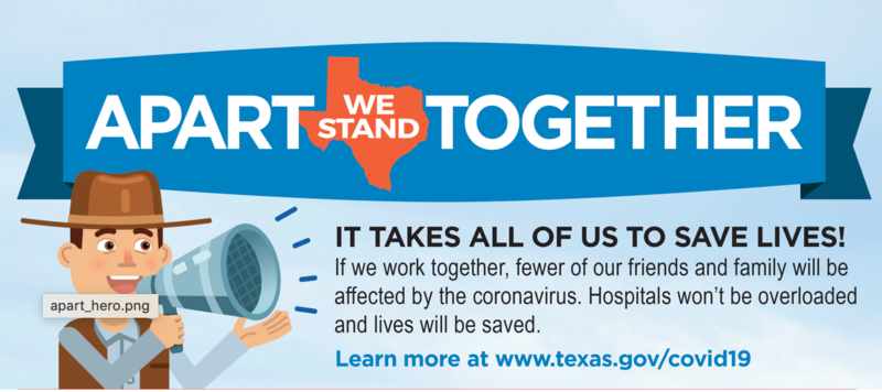 Texas Education Agency: Apart We Stand Together Featured Photo