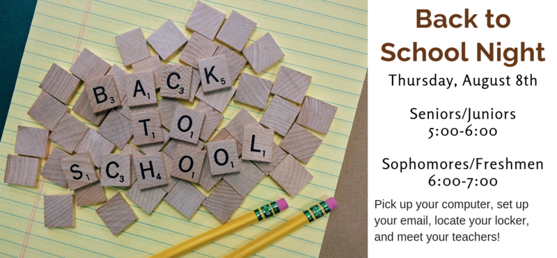 Back to School Info Thumbnail Image