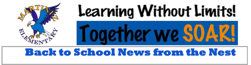 Back to school newsletter image