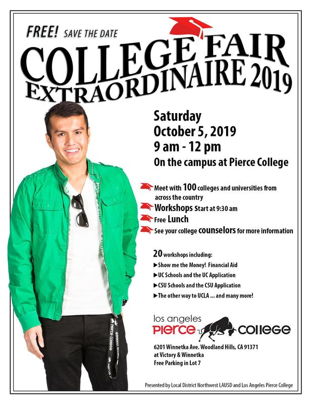 Local District Northwest College Fair at Pierce College October 5th Featured Photo