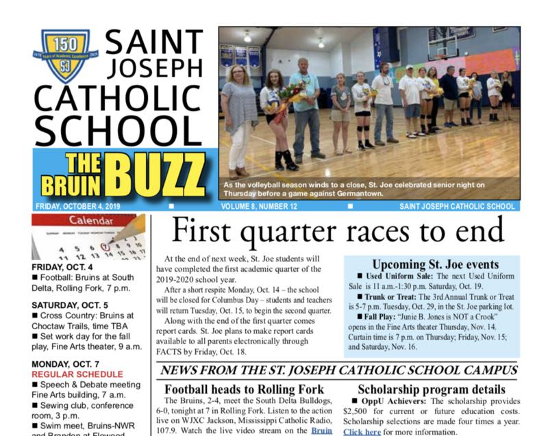 THE BRUIN BUZZ, FRIDAY, OCT. 4 Featured Photo