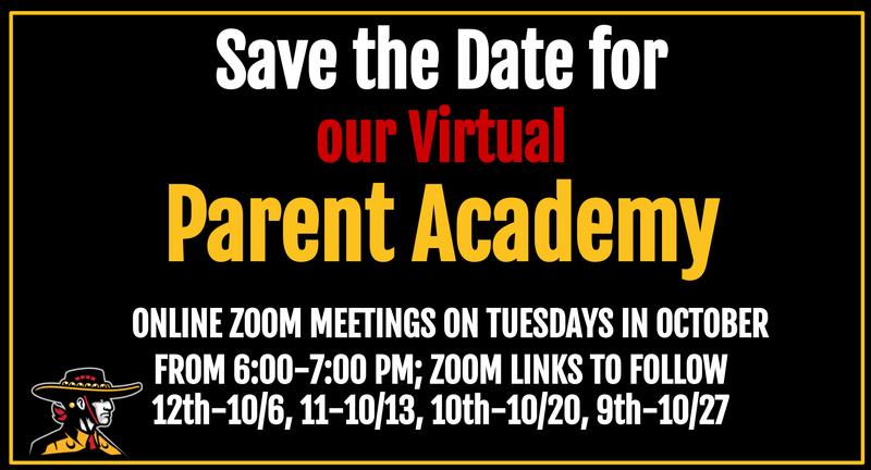 Parent Academy Dates - Tuesdays in October