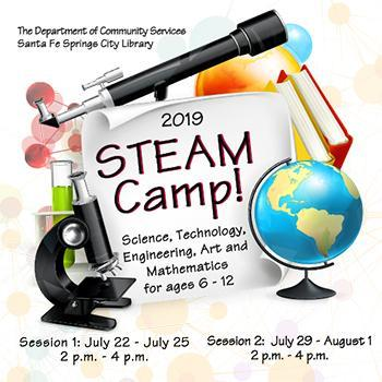 Santa Fe Springs City Library STEAM Camp Featured Photo