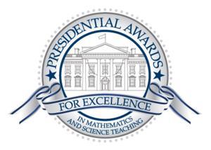 Presidential award for excellence in math.jpg