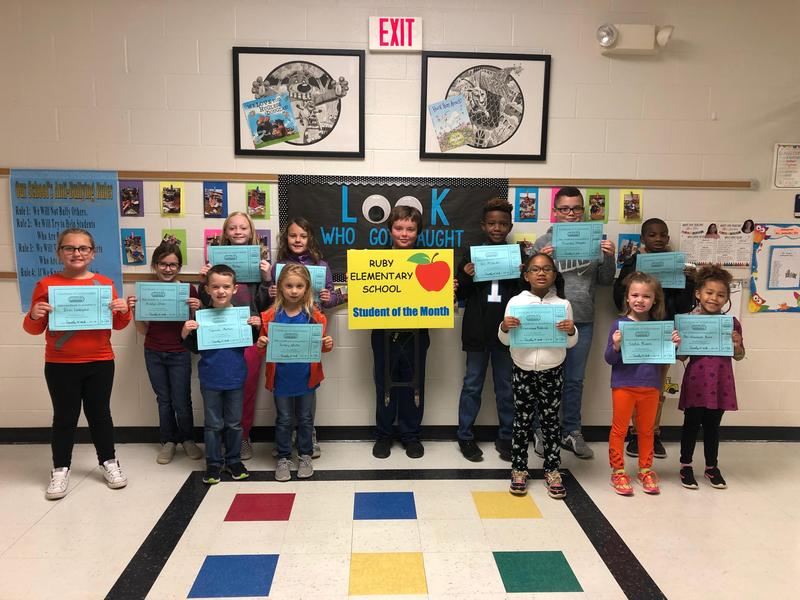 November Student of the Month Featured Photo