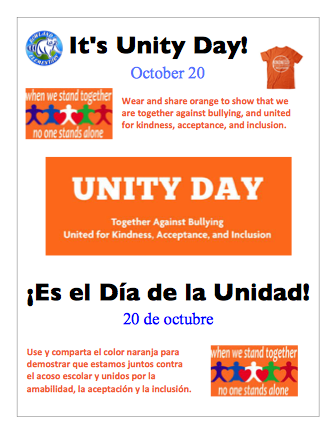 Unity Day, Oct 20 Featured Photo