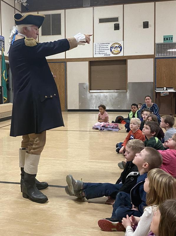 George Washington Visits!