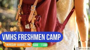 VMHS Freshmen Camp pic