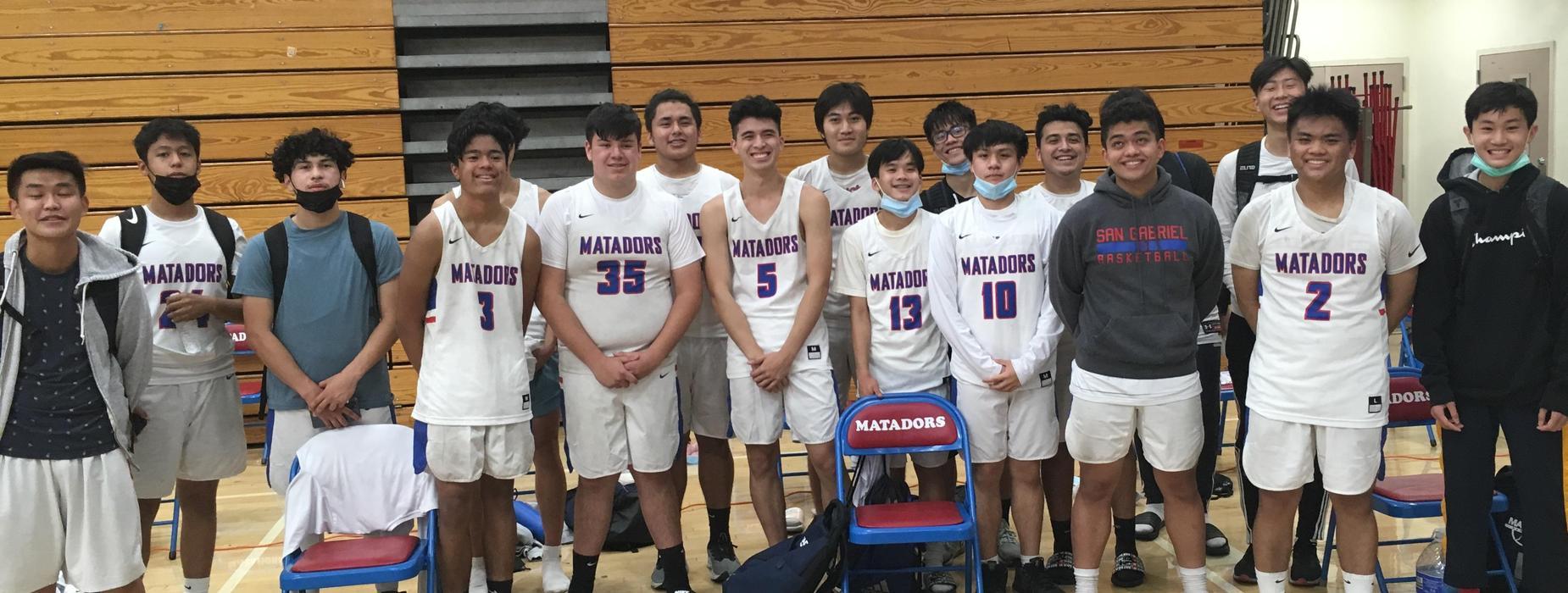 SGHS Matadors Basketball Team