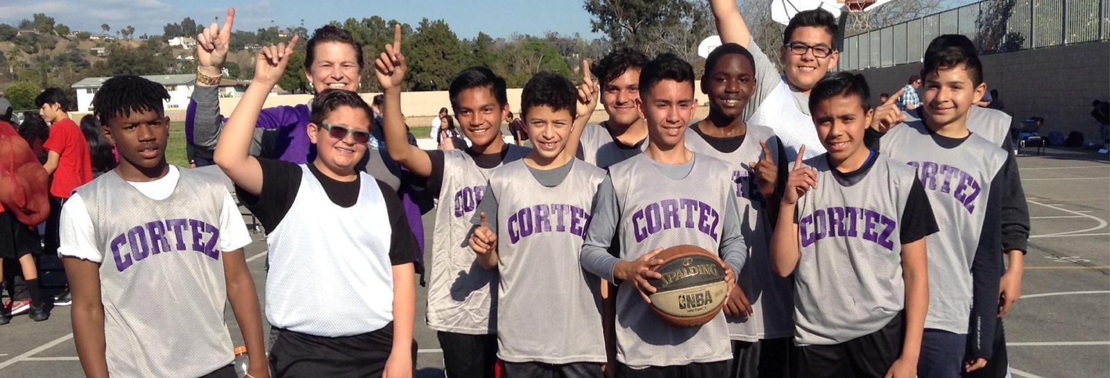 Cortez Basketball