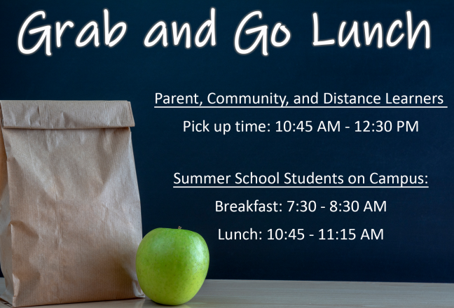 Grab and Go Lunch Schedule