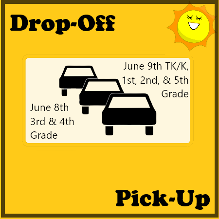 Soleado End of Year Drop-Off/Pick-up Materials Schedule Thumbnail Image