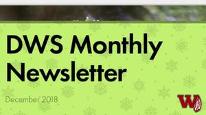 Webster School December Newsletter