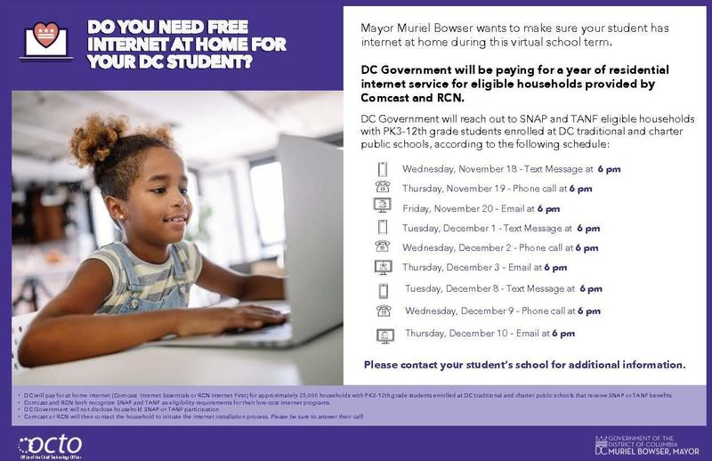 Free Internet for Eligible Families! Featured Photo
